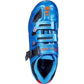 Cube Road Pro Schuhe blue'n'flashred